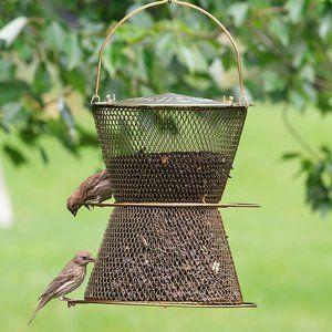 No/No Feeders Original Hourglass Bird Feeder